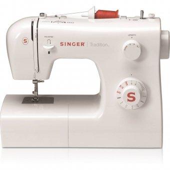 Máquina de Costura Tradition 2250 Singer Branca 127V