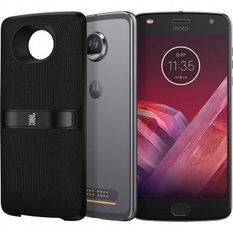 Smartphone Motorola Moto Z2 Play New Sound Edition XT1710-07 Platinum