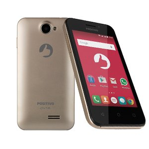 Smartphone Positivo ONE S420 Dual Dourado Reembalado