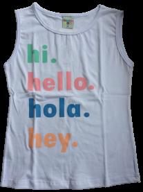 Imagem - Blusa Infantil Cotton Hi. Hello Have Fun cód: 17496001