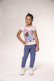 Imagem - Blusa Infantil Pug Super Girl Kukiê cód: 17578003