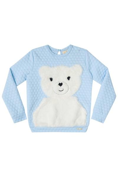Imagem - Blusão Kukiê Matelasse Urso em Pelo cód: 15317002