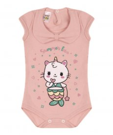Imagem - BODY Infantil SEMPRE KIDS SUMMER LOVE cód: 16677027