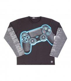 Imagem - Camiseta Infantil Game Neon Biogas cód: 17055014