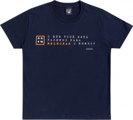 Imagem - Camiseta Infantil Melhorar o Mundo Biogas cód: 17389001
