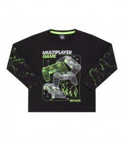 Imagem - Camiseta Menino Game Biogas Neon cód: 17064014