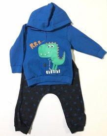 Imagem - Conjunto Sempre Kids em Moletom Dino  cód: 16292002
