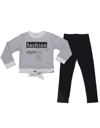 Imagem - Conjunto Have Fun Blusa e Legging Moletom Fashion cód: 16135033