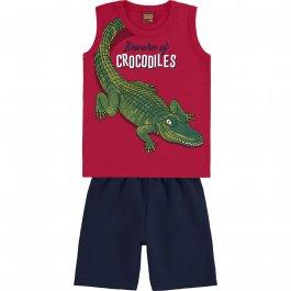Imagem - Conjunto Infantil Crocodiles Kyly cód: 17567005