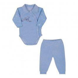 Imagem - Kit Bebê Conjunto Plush Body e Calça Letut cód: 17015002