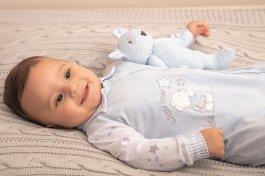 Imagem - Macacão Bebê Malha Letut Urso cód: 17007002