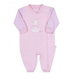 Imagem - Macação Bebê Plush Rosa cód: 17011003