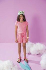 Imagem - Macacão Infantil C/ Strass Fashion Kukiê cód: 17591041