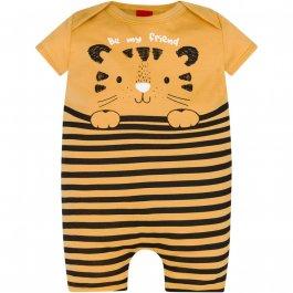 Imagem - Macacão Bebê Kyly Tigre Listrado cód: 16711015