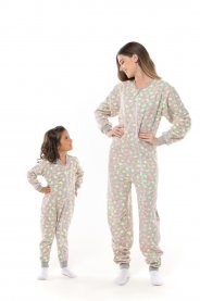 Imagem - Macacão Pijama Adulto Soft Vrasalon cód: 16994033
