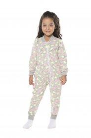 Imagem - Macacão Pijama Infantil Soft Vrasalon cód: 16993033