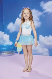 Imagem - Maio infantil Sereia Com Saia Love Kukie cód: 17552004