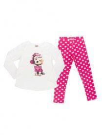 Imagem - Pijama Have Fun Cachorro e Legging Poa cód: 16205001