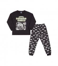 Imagem - Pijama Infantil Brilha no Escuro Dinossauro cód: 17084014