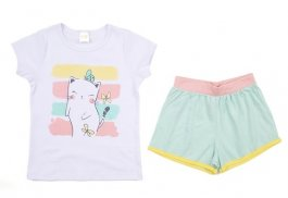 Imagem - Pijama Infantil Femino Gatinha Have Fun cód: 17467001