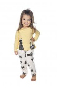 Imagem - Pijama Infantil Gato Have Fun Malha cód: 17154015