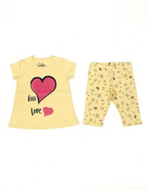 Imagem - Pijama Infantil Have Fun Kiss Love cód: 16468015