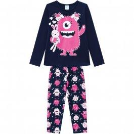 Imagem - Pijama Infantil Kyly Brilha no Escuro  cód: 17139006