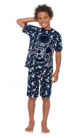 Imagem - Pijama Infantil Kyly Astronauta Brilha no Escuro cód: 16724006
