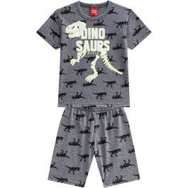Imagem - Pijama Infantil Dinossauro Kyly Verão Brilha no Escuro cód: 16393016