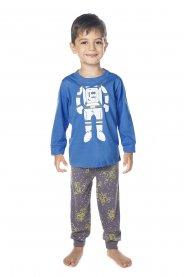 Imagem - Pijama Infantil Malha Have Fun Astronauta cód: 17152002