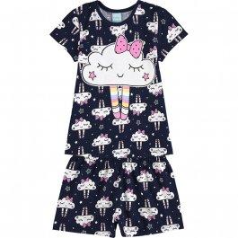 Imagem - Pijama Infantil Nuvens Kyly cód: 17434006