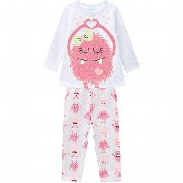 Imagem - Pijama Infantil Peluciado Brilha no Escuro Have Fun cód: 17221016