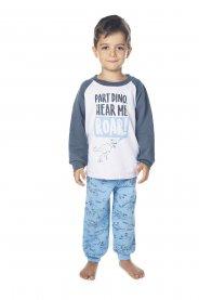 Imagem - Pijama Infantil Peluciado Dino Have Fun cód: 17155004