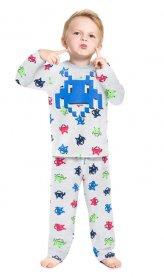 Imagem - Pijama Infantil Peluciado Brilha Escuro Games Kyly cód: 17193006