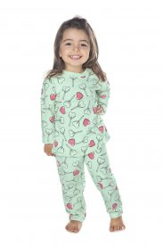 Imagem - Pijama Infantil Peluciado Have Fun Coracoes cód: 17156004
