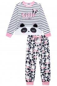 Imagem - Pijama Infantil Plush Panda Kukie cód: 17264001