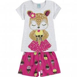 Imagem - Pijama Infantil Raposa Kyly cód: 17430033