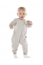 Imagem - Pijama Macacao Infantil Moletom Listrado Vrasalon cód: 17295016
