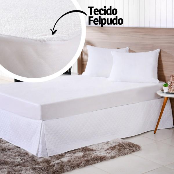 Imagem - Protetor de Colchao Solteiro Impermeavel Felpudo Bene Casa cód: 15577001