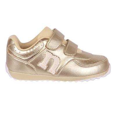 Imagem - Tênis Novopé Dourado com Velcro Tam. 28 ao 32 cód: 12426029