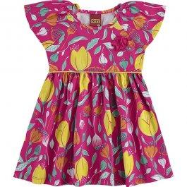 Imagem - Vestido Infantil Floral Bebe Kyly cód: 17439012