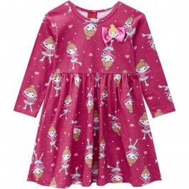 Imagem - Vestido Infantil Malha Kyly Rosa cód: 16938012