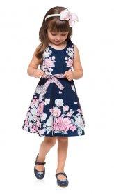 Imagem - Vestido Infantil Milon Estampa Floral cód: 16717006