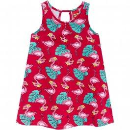 Imagem - Vestido Infantil Kyly Regata com Flamingo cód: 16607005