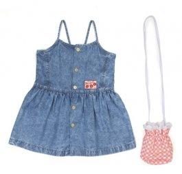 Imagem - Vestido Jeans Infantil C/ Bolso Have Fun cód: 17480019