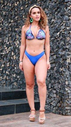 Imagem - Biquíni Garota do Mar Cortininha PV20 - Azul