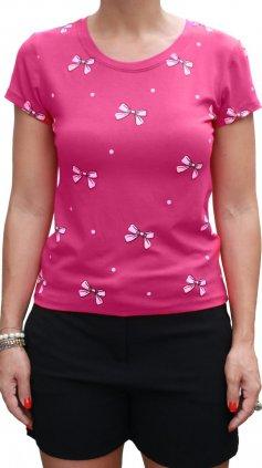 Imagem - Blusa Tshirt Camiseta Feminina Estampas Várias Cores - Rosa Escuro