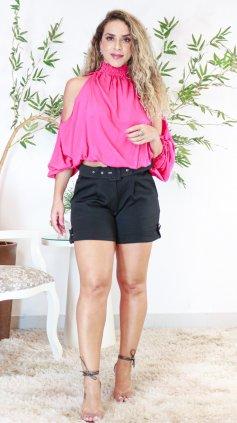 Imagem - Blusa Ombros a Mostra - rosa