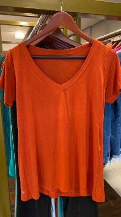 Imagem - Blusa T-Shirt Podrinha - Telha