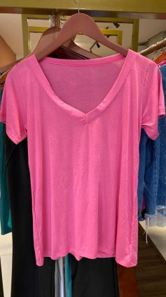 Imagem - Blusa T-shirt Podrinha - Rosa